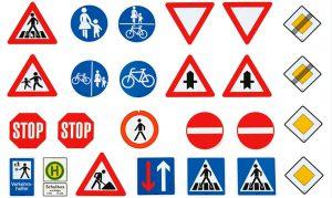 تابلو و علائم ترافیکی